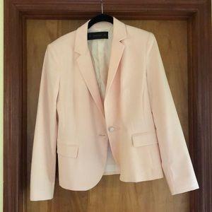 Light pink blazer from Zara basic